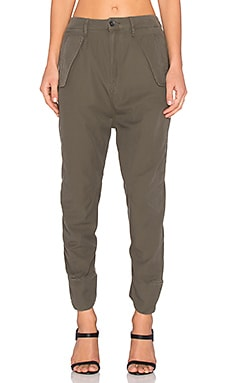 Avi Loose Pant in Combat