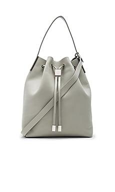 Yuri Bucket Bag in Cement & Silver