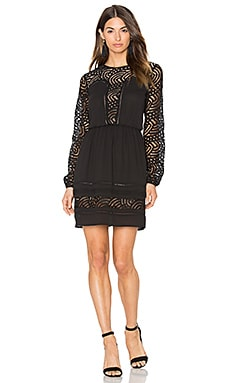 Aliston Lace Dress in Black