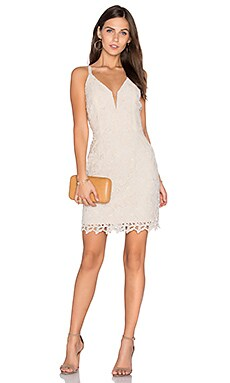 Olivia Lace Dress in Ivory