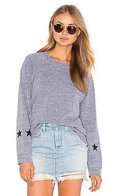 Vintage Stars Sweatshirt in Dark Heather
