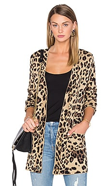 x REVOLVE Carine Cardigan in Leopard