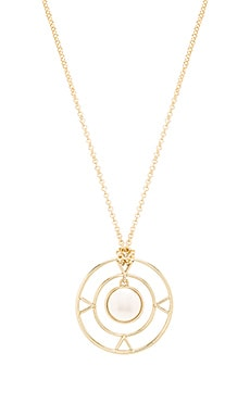 House of Harlow The Four Elements Pendant Necklace in Gold