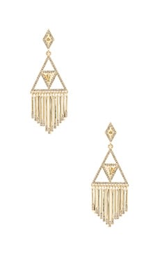Golden Hour Fringe Earring in Gold