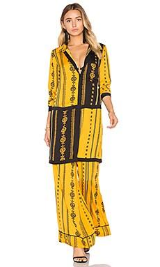 x REVOLVE Marie Blouse in Inca Pajama Print