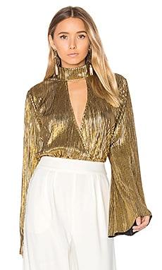 x REVOLVE Lynn Blouse in Gold