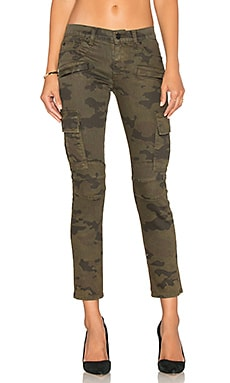 Colby Moto Skinny Cargo in Rustic Camo