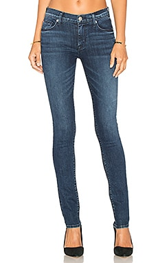 Shine Mid Rise Skinny in Moonshine