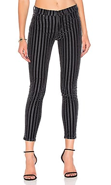 Nico Mid Rise Ankle Skinny in Linear