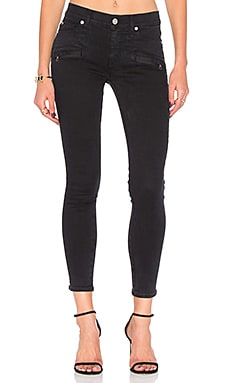 Roe Mid Rise Ankle Super Skinny in Assailant