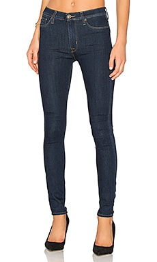 Barbara High Waist Skinny in Skylark
