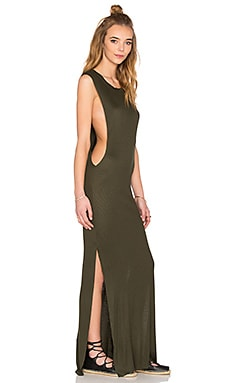 Jimmy Maxi Dress in Pine Green
