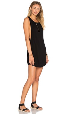 Juno T Back Dress in Black