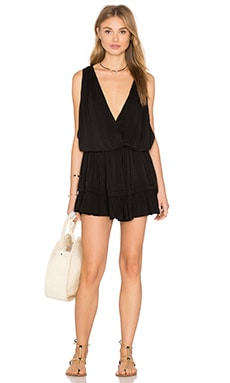 Balmy Open Back Dress in Black