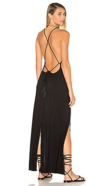 Spark Maxi Dress in Black