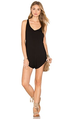 Bean Romper in Black