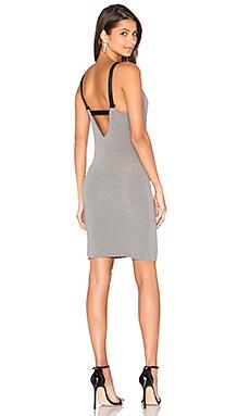 Mealine Dress in Steel Grey