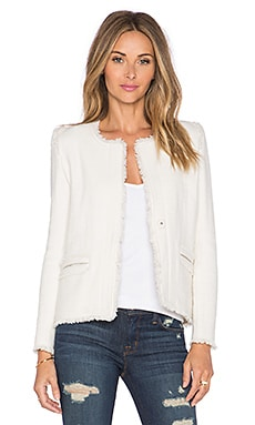 Anglet Jacket in Ecru