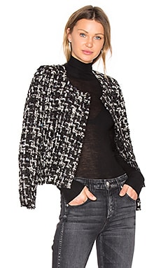 Nalokie Blazer in Black & White