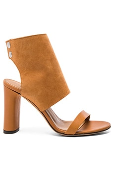 Sils Sandal in Camel & Brown