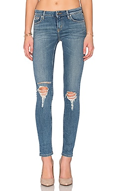 Nikky Skinny in Denim Blue