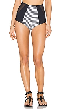 Harper Bikini Bottom in Stripe