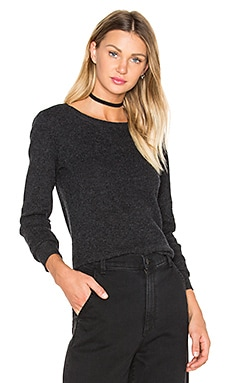 Thermal Crew Neck Sweater in Anthracite