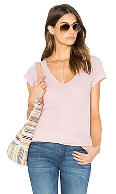 High Gauge Jersey Tee in Antique Rose