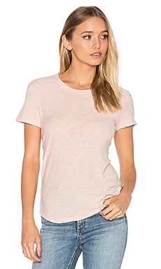 Slub Crew Neck Tee in Luster