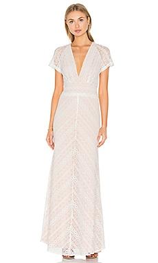 Jasmine Dress in Ivory