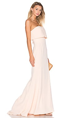 x REVOLVE Blaze Gown in Nude