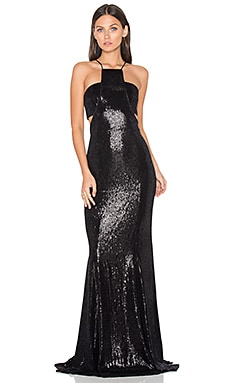 Accra Gown in Black
