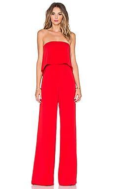 Moore Jumpsuit in Red