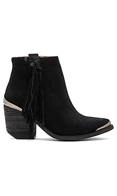 Pascal Booties in Black Oiled Suede