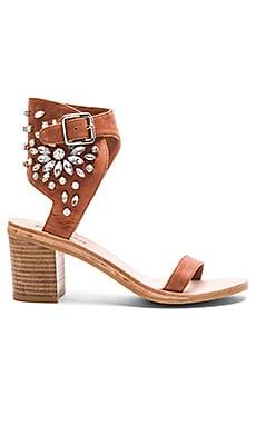 Iowa Sandals in Tan Clear
