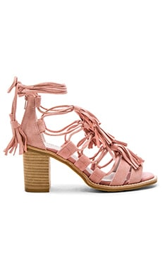 Linares Sandals in Light Pink Suede
