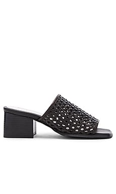 Derry WV Sandal in Black Woven