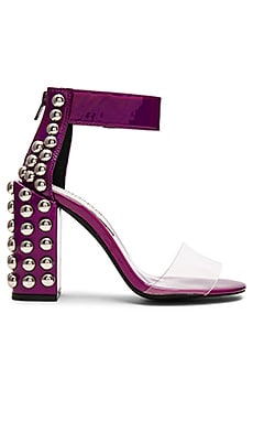 Chateau Heels in Purple Iridescent Silver