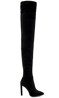 x REVOLVE Sherise Boots in Black Suede