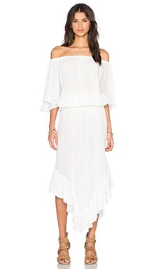 Ponderosa Dress in White