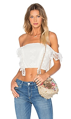 Josephine Top in Ritual Romantic White