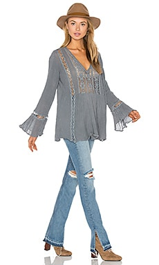 Lakeview Tunic Top in Storm