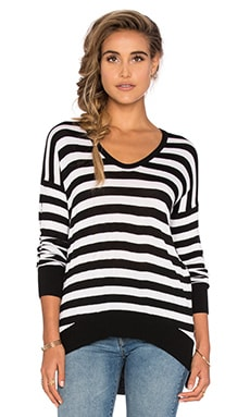 Jeremiah Scoop Neck Sweater in Day & Night