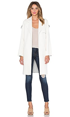 Trench Coat in Ivory