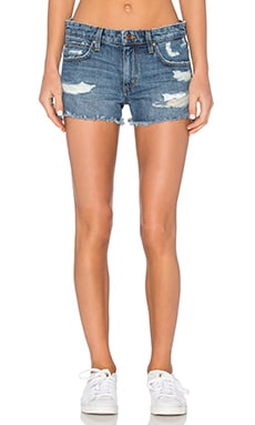 Cut Off Short in Medium Blue