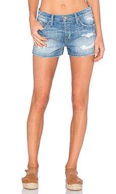 Livvy Collector's Edition The Billie Short in Light Blue Destroyed