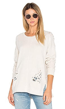 Bibiana Pullover in White Smoke