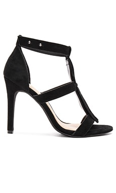 Castor Heel in Black