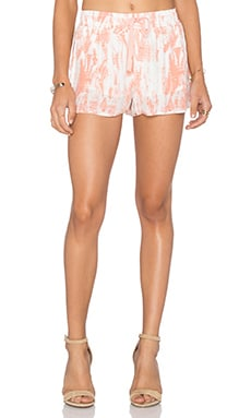 Layana Short in Burnt Coral
