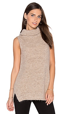 Arne Sleeveless Sweater in Mousse